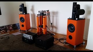 Stereo   AWESOME One Of A Kind DIY Speakers