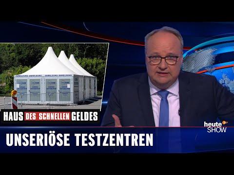 Podvody v testovacích centrech - heute show