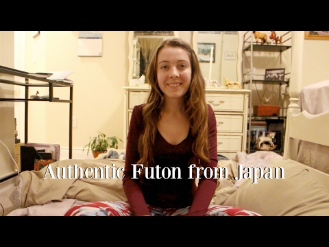 Japanese Futon Unboxing + Why I Got One