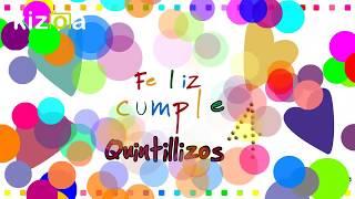 Cumpleaños No.4 Quintillizos Macareno Reyes