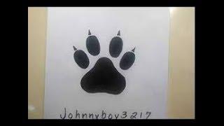 How To Draw A Dog Paw 免费在线视频最佳电影电视节目 Viveos Net