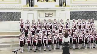 """Ехала деревня - младший хор """"Весёлые голоса"""" 2018-12-15"""