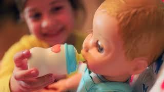 В доме появился Малыш! Эмилюша Как Мама для говорящей Куклы