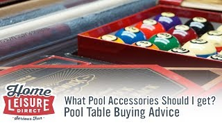 What Accessories Should I get with my Pool Table? - Pool Table Buying Advice