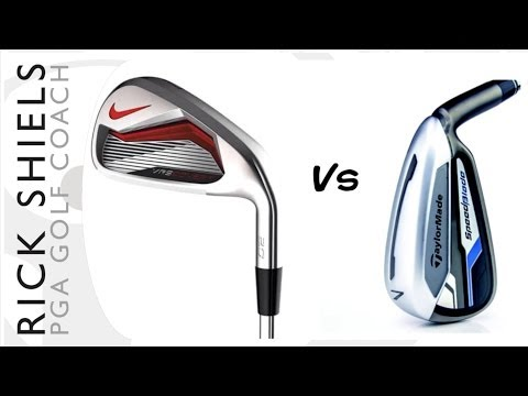 NIKE VR_S COVERT 2.0 Vs TAYLORMADE SPEEDBLADE IRONS