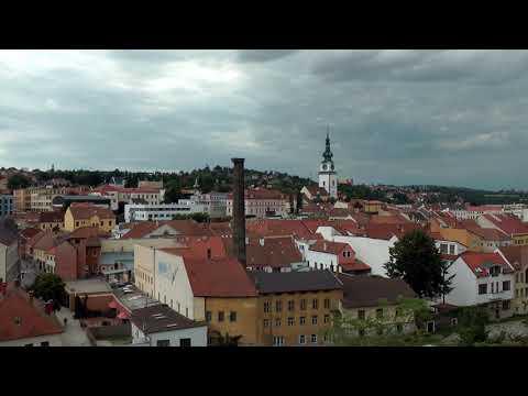 Třebíč - panoramatický pohled z Masarykovi vyhlídky