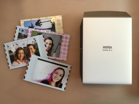 Fujifilm Instax Share SP2 photo printer Review