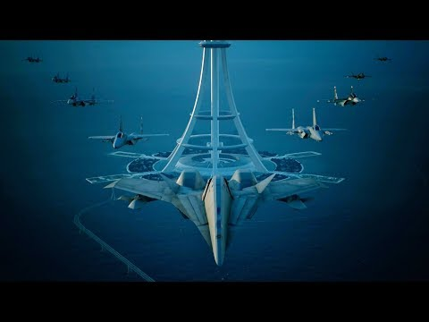 Ace Combat 7: Skies Unknown (ADF-11F  Raven) Mission 20 l Dark Blue |_・)