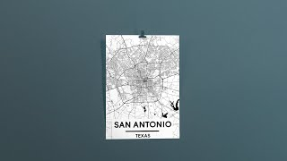 How To Make A City Map Poster