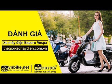 Đánh giá xe máy điện Espero Vespa