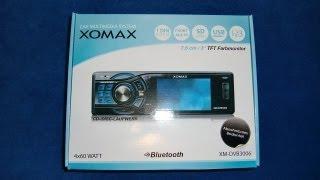 XOMAX XM-DVB 3006 DVD CD USB LCD SD Monitor Autoradio carradio Radio unboxing short intro