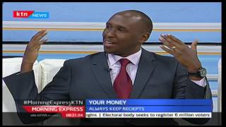 Your Money: How to track your spending with Waithaka Getumia [Part 1] - January 17th,2017