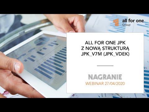 SNP JPK z nową strukturą JPK_V7M (JPK_VDEK) – dostosuj SAP do nowych wymagań