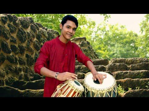 Amar Mollika Bone Tabla Cover By Proshanta Deb || Rabindra Sangeet ||