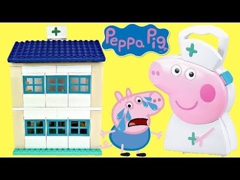 Peppa Pig Hospital Duplo Construction Set! Nurse Carry Case