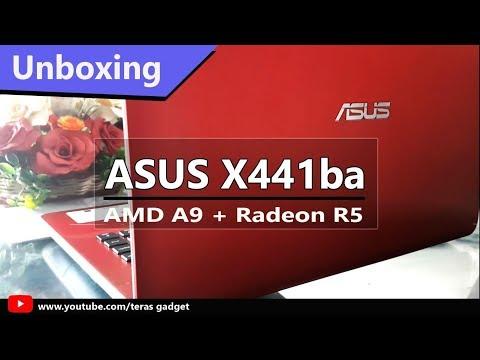 Unboxing Laptop Murah - Asus X441BA (AMD A9 + Radeon R5)