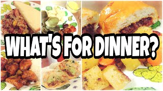 WHAT'S FOR DINNER? · Family Dinner Ideas · WHAT WE ATE THIS WEEK · February 3-9, 2019