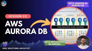 EP-22   Amazon AURORA Explained   How does Aurora work? Visual Explanation