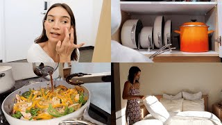 DAYS IN MY LIFE VLOG | Simple daily routines, new cookware, spending thanksgiving alone