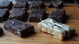 Chocolate Energy Bars - How To Make Fruit & Nut Energy Bars - Breakfast Bar Recipe