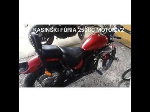 Vendo Kasinski FÚRIA 250cc
