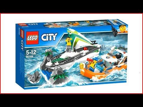 Vidéo LEGO City 60168 : Le sauvetage du voilier