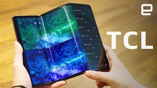 TCL's new foldable and rollable concepts first look