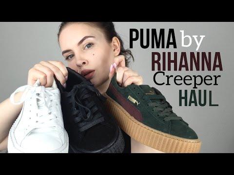 SNEAKER HAUL | Puma Creeper by Rihanna | Sarah Foxx