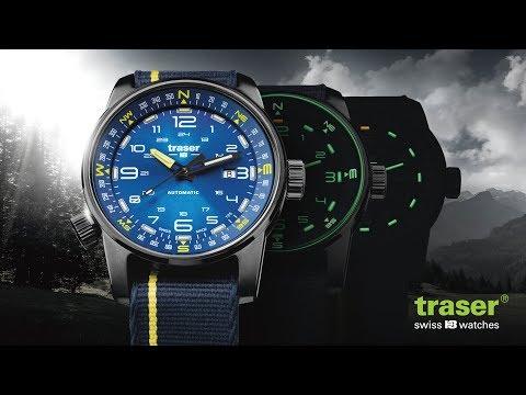Часы Traser P68 Pathfinder Automatic Blue