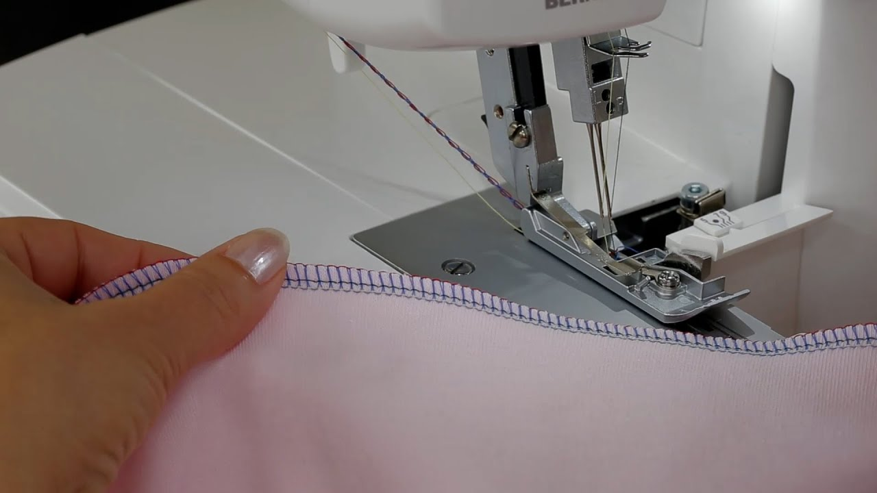 BERNINA L 450: video instructions 3/8