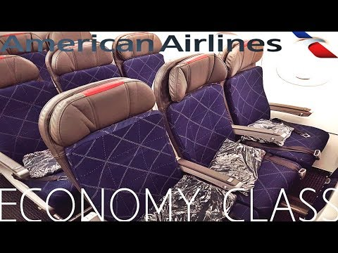American Airlines ECONOMY CLASS Los Angeles to New York|Airbus A321T
