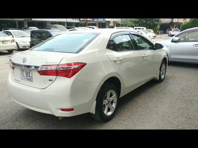 Toyota Corolla GLi 1.3 VVTi 2015 for Sale in Islamabad