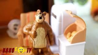 Маша и медведь Мультфильм для детей из игрушек Маша ПРИВИДЕНИЕ