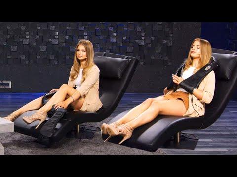 Diana Naborskaia genießt Nackenmassagen! Bei PEARL TV (Juli 2020) 4K UHD