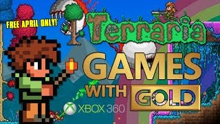 TERRARIA XBOX 360 FREE | Games With Gold Limited Time (Expires April)