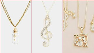 Beautiful Unique Style Of Necklace Design For Girls /Different Style  Of Pendant For Girls