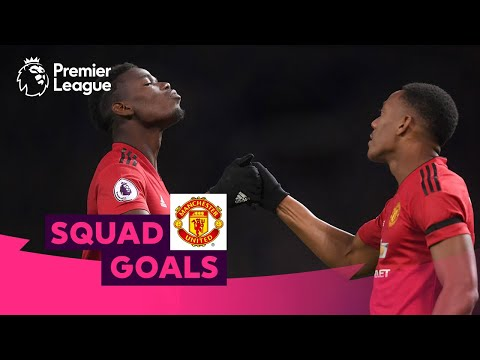 Magical Manchester United Goals | Pogba Rooney Ronaldo | Squad Goals