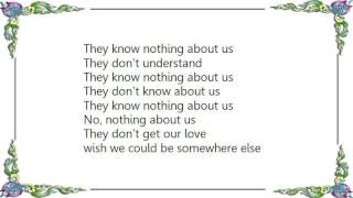 Basia - They Know Nothing About Us Lyrics