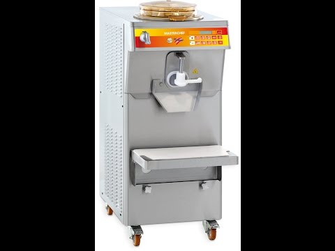 Multifunction Pastry & Ice-Cream Machines Promag Series Masterchef