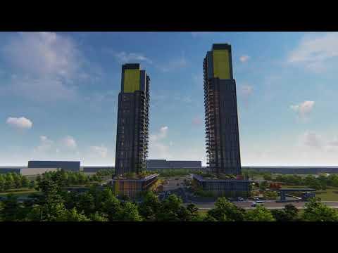 Eliz Kule Bölgenin En İyisi 3D Animasyon videosu