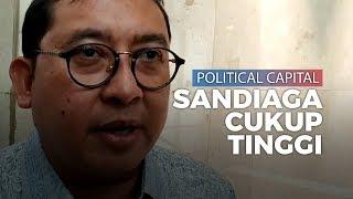 Soal Guyonan Jokowi, Fadli Zon Singgung Political Capital Sandiaga yang Cukup Tinggi