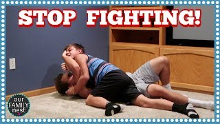 MOVING VLOG! AND THE BOYS WON'T STOP FIGHTING!