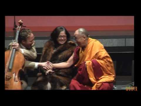the Dalai Lama is also a comedian