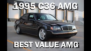 1995 Mercedes C36 AMG Review- Best Value AMG | Kholo.pk