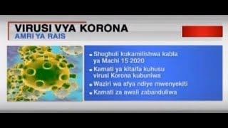 Hofu ya virusi vya Korona: Serikali yakashifiwa vikali | MIZANI YA WIKI