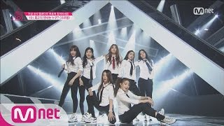 [Produce 101] Having the Girl Crush! – EXO ♬Growl @Position Eval.(DANCE) EP.07 20160304