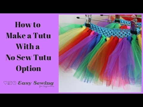 How to Make a Tutu QUICK and Easy!