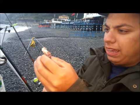 La pesca su un occhio su che beccate
