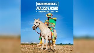 Rudimental & Major Lazer  - Let Me Live (feat. Anne-Marie & Mr. Eazi)