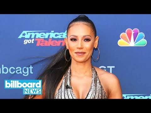 Mel B Throws Water at Simon Cowell, Storms Off 'America's Got Talent' Stage | Billboard News (видео)